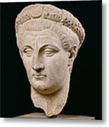 Bust Of Emperor Claudius Metal Print by Anonymous