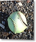 Busted Stitches Metal Print by Bill Cannon