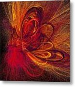 Butterfire Metal Print by Sharon Lisa Clarke