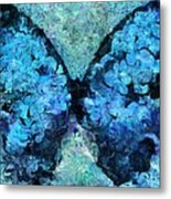 Butterfly Art - D11bl02t1c Metal Print by Variance Collections