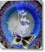 Butterfly Metal Print by Dietrich ralph  Katz