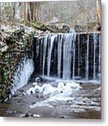 Buttermilk Falls 2 Metal Print by Anthony Thomas
