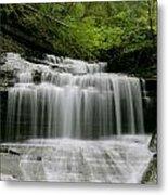 Buttermilk Falls Metal Print by Judd Connor