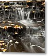 Buttermilk Falls Metal Print by Shannon Workman