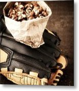 Buy Me Some Peanuts And Cracker Jack Metal Print by Edward Fielding