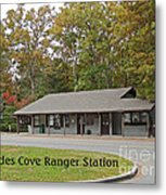 Cades Cove Ranger Station Metal Print by Marian Bell