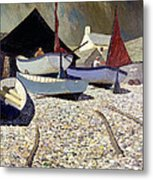 Cadgwith The Lizard Metal Print by Eric Hains