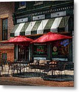 Cafe - Albany Ny - Mc Geary's Pub Metal Print by Mike Savad