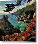 California Coastline Metal Print by Benjamin Yeager