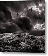 Calm Before The Storm Metal Print by Bob Orsillo