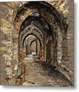 Camelot -  The Way To Ancient Times - Elena Yakubovich Metal Print by Elena Yakubovich