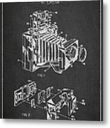 Camera Patent Drawing From 1963 Metal Print by Aged Pixel
