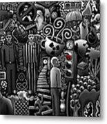Can 'o' Worms Metal Print by Matthew Ridgway