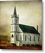 Canadian Prairie Heritage Metal Print by Blair Wainman