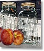 Canning Time Metal Print by Barbara Jewell