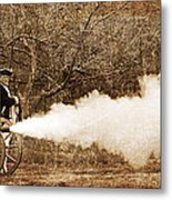 Cannon Fire Metal Print by Mark Miller