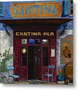 cantina Ala Metal Print by Guido Borelli