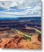 Canyon Country Metal Print by Chad Dutson