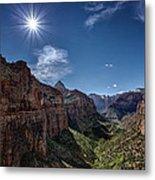 Canyon Overlook Metal Print by Jeff Burton