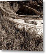 Cape Cod Skiff Metal Print by Luke Moore