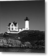 Cape Neddick Light Station Metal Print by Mountain Dreams