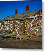 Cape Neddick Lobster Pound Metal Print by Susan Candelario