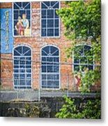 Capitola Cotton Yarn Mill Metal Print by Carolyn Marshall
