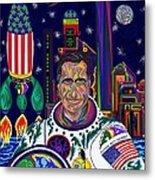 Captain Mitt Romney - American Dream Warrior Metal Print by Robert SORENSEN