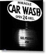 Car Wash Metal Print by Tom Mc Nemar