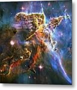 Carina Nebula 6 Metal Print by The  Vault - Jennifer Rondinelli Reilly