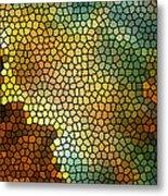 Carina Nebula Mosaic  Metal Print by The  Vault - Jennifer Rondinelli Reilly