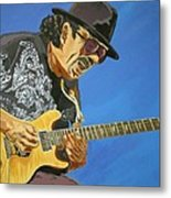 Carlos Santana-magical Musica Metal Print by Bill Manson