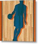 Carmelo Anthony New York Knicks Metal Print by Joe Hamilton
