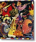 Carnival Metal Print by Nekoda  Singer