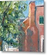 Carnton Plantation On A Spring Morning Metal Print by Susan E Jones
