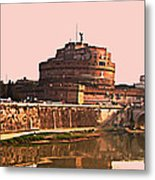 Castel Sant 'angelo Metal Print by Brian Reaves