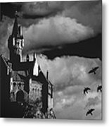 Castle In The Sky Metal Print by Bob Orsillo