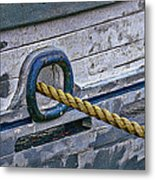 Cat Hole And Hawser Metal Print by Marty Saccone