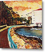 Catalina Island Metal Print by Carrie Jackson