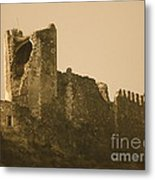 Catapult At Lastours  Metal Print by France  Art