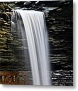 Cavern Cascade Metal Print by Frozen in Time Fine Art Photography