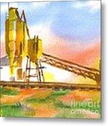Cement Plant II Metal Print by Kip DeVore