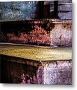 Cement Steps Number One Metal Print by Bob Orsillo