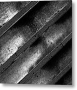 Cement Steps Number Two Metal Print by Bob Orsillo