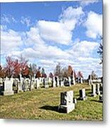 Cemetery At Gettysburg National Battlefield Metal Print by Brendan Reals