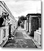 Cemetery Departed Metal Print by John Rizzuto