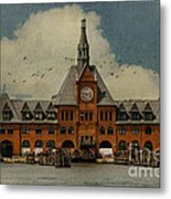 Central Railroad Of New Jersey Metal Print by Juli Scalzi