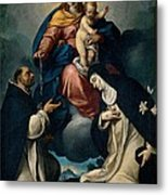 Ceresa Carlo, Our Lady Of The Rosary Metal Print by Everett