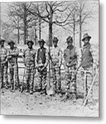 Chain Gang C. 1885 Metal Print by Daniel Hagerman