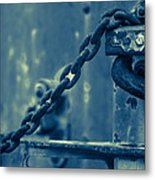 Chained And Moody Metal Print by Toni Hopper